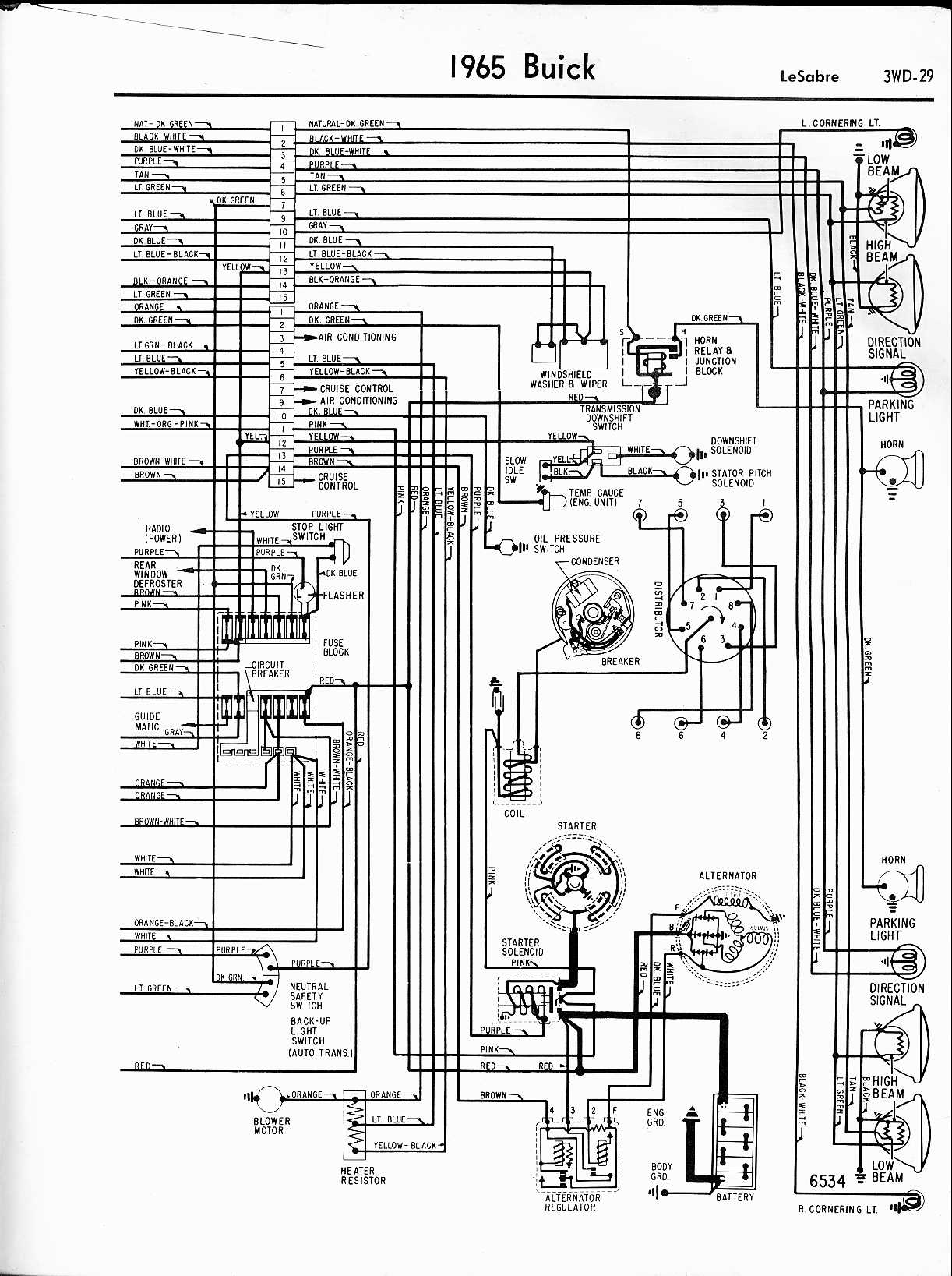 Buick Wildcat Wiring Diagram