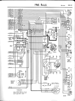Buick Wiring Diagrams: 19571965