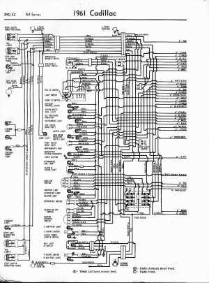 Cadillac Wiring Diagrams: 19571965