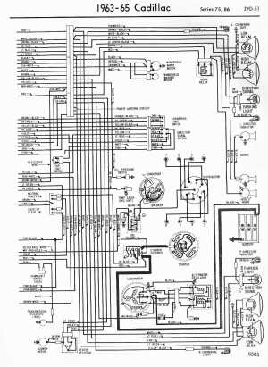 Cadillac Wiring Diagrams: 19571965