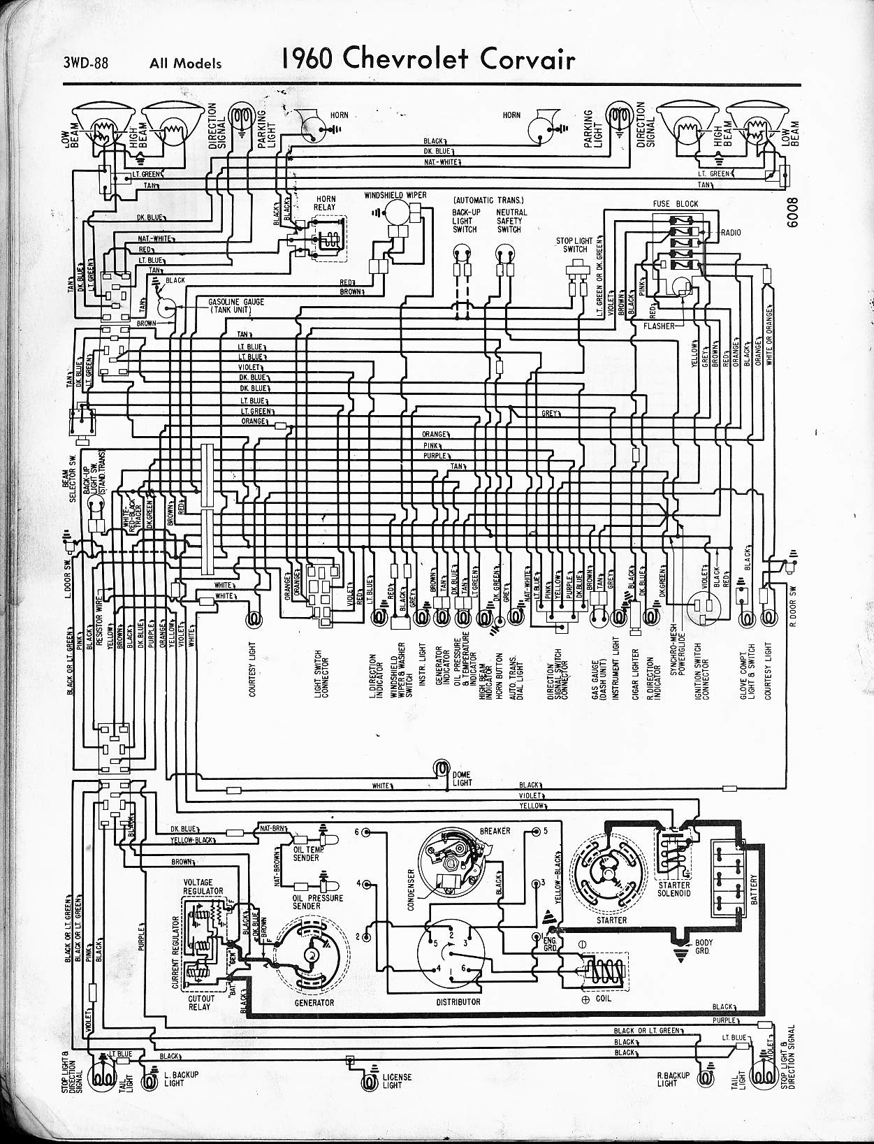 2c11 1960 Chevy Ignition Switch Wiring Diagram Wiring Resources