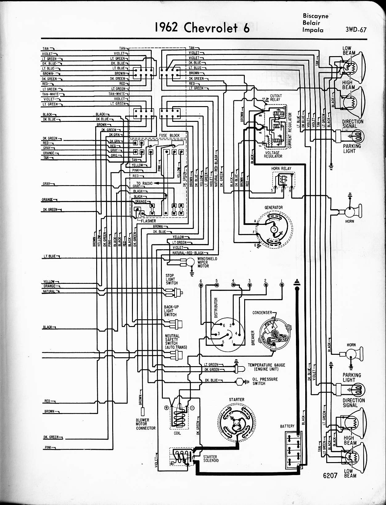 1963 Chevy Pickup Wiring Diagram