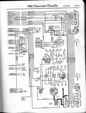 64 alternator wiring  Chevelle Tech