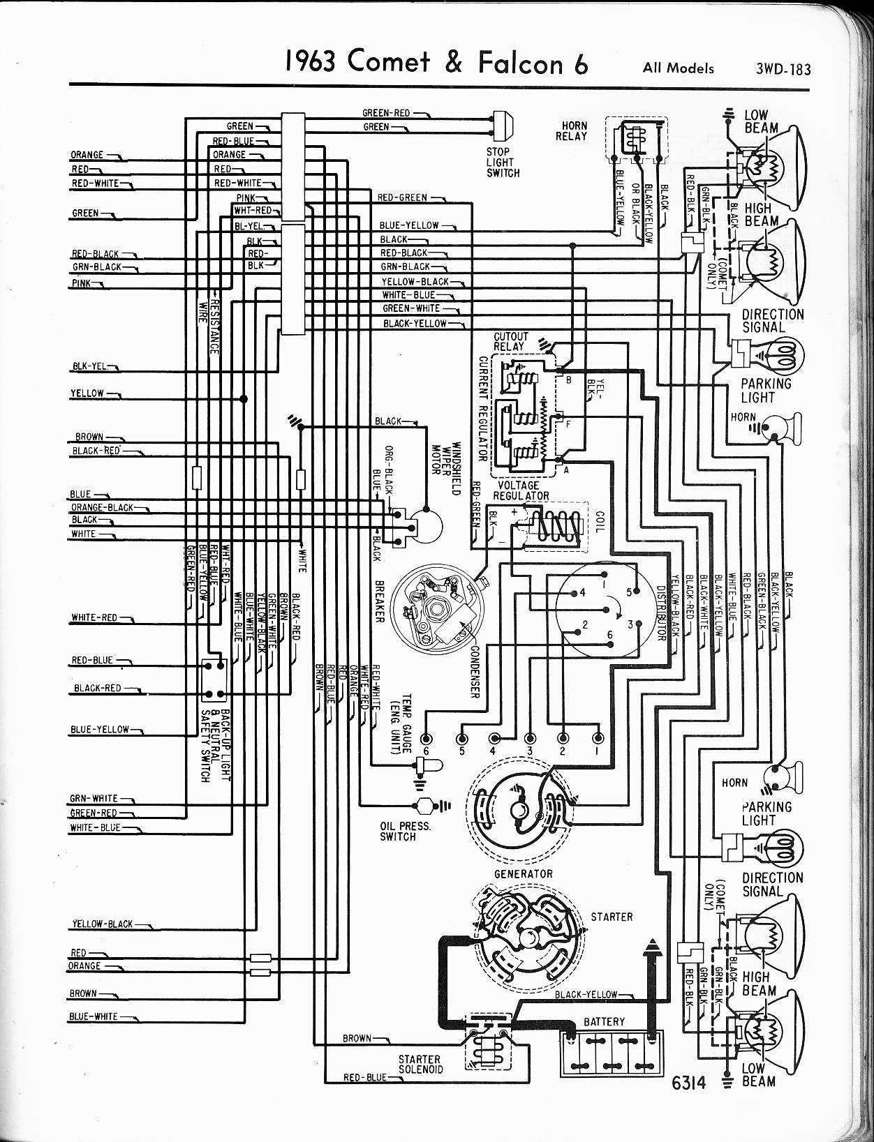 Ford Ranchero Wiring Diagrams