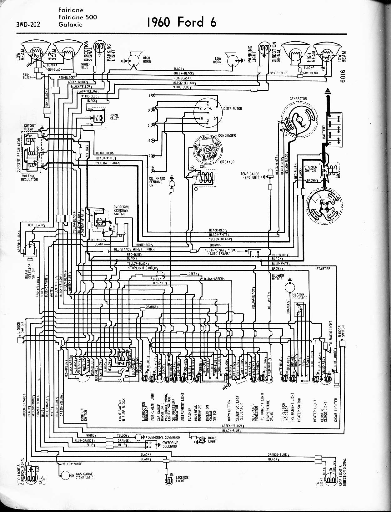 Wrg Ford Thunderbird Wiring Diagram