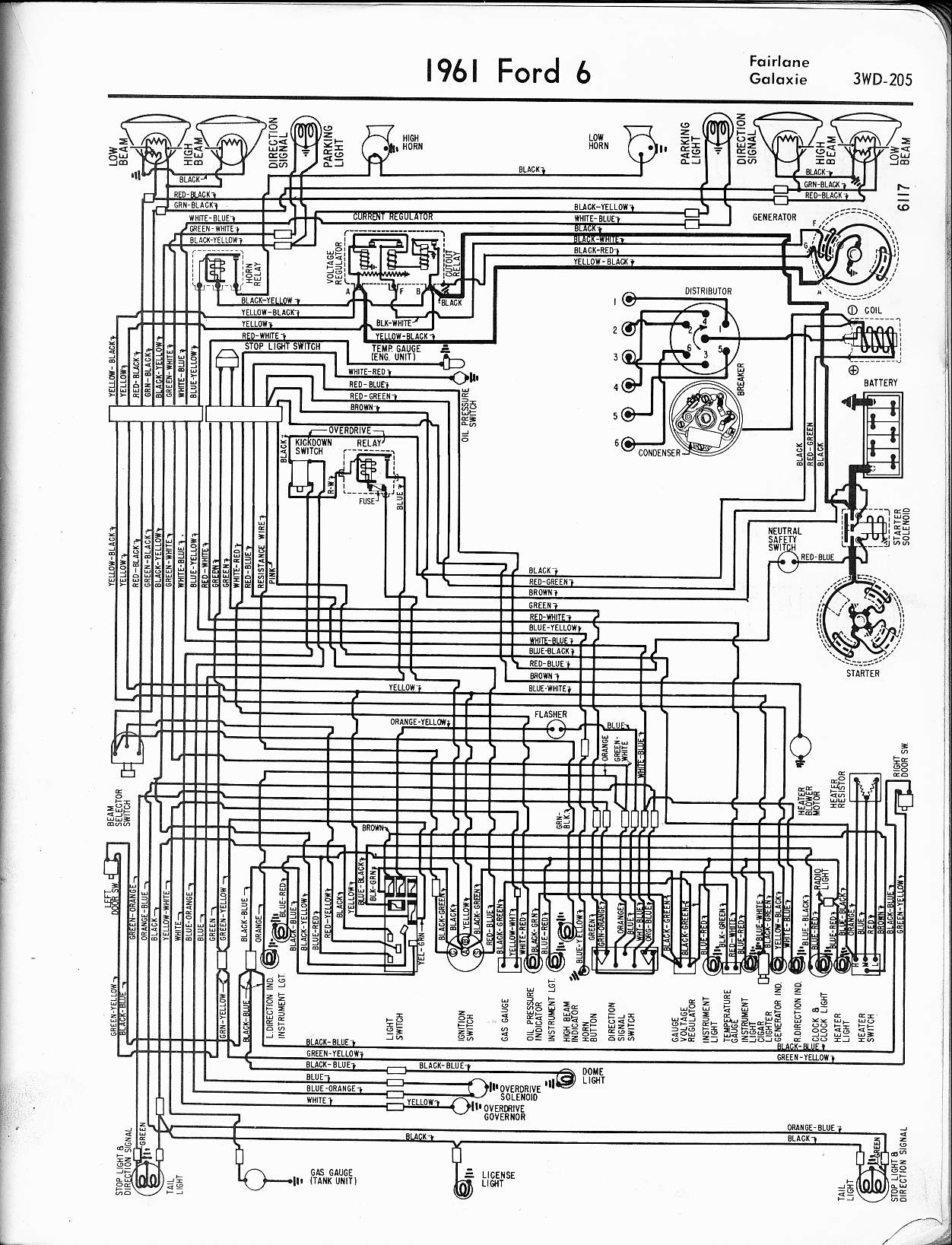 Vehicle Ignition Wiring Diagram : Car ford falcon ignition switch wiring diagram ranchero xg