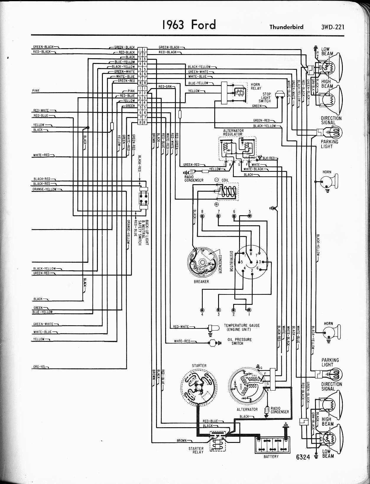 Wiring Diagram For Ford Falcon