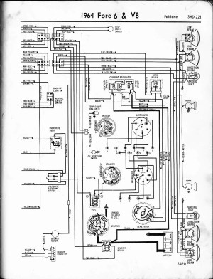 I need an Electrical Schematic for a 1964 Ford Falcon