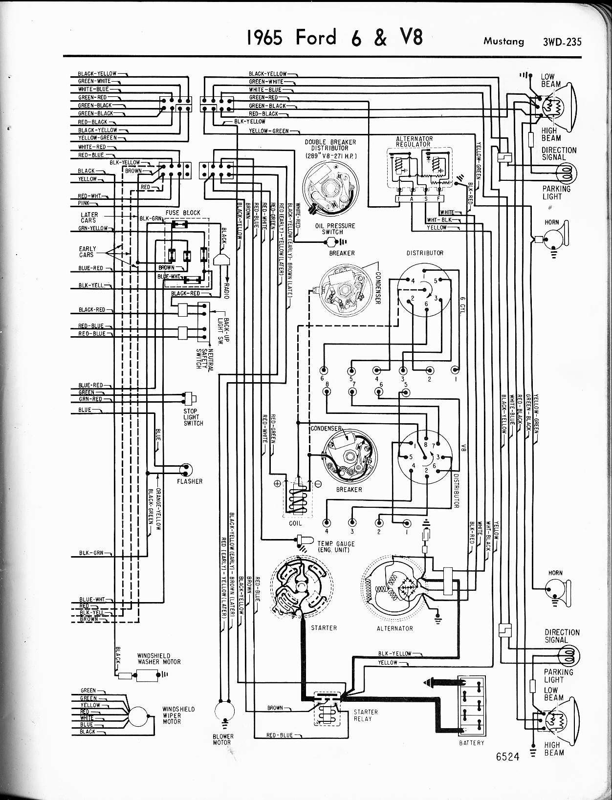65 Mustang Wiring Diagram 2