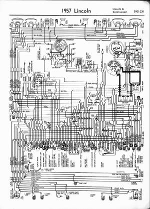 Lincoln Wiring Diagrams: 1957  1965