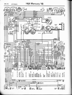 Mercury wiring diagrams  The Old Car Manual Project