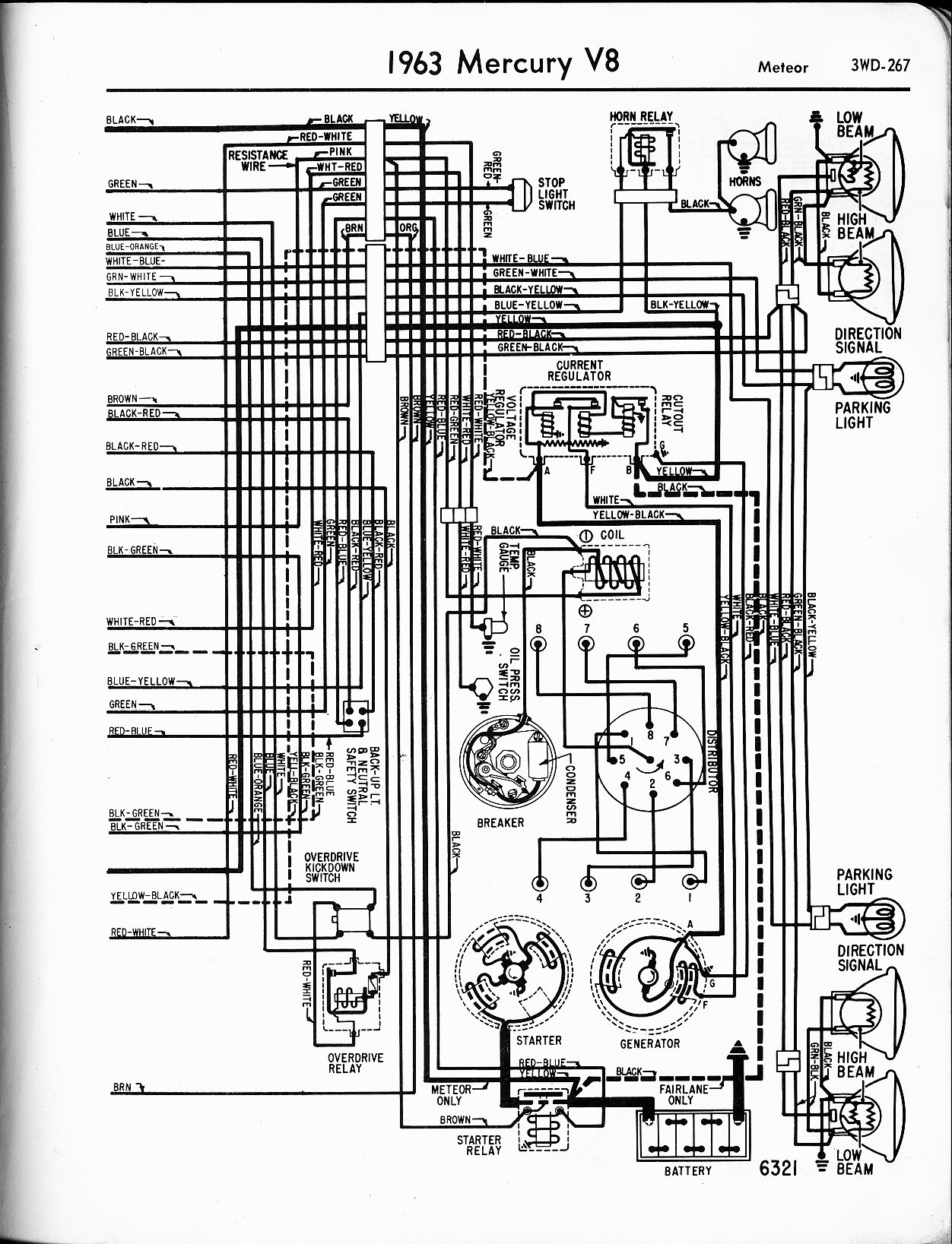 Mercury wiring diagrams the old car manual project rh oldcarmanualproject mercury outboard charging system 1978 mercury outboard wiring diagram