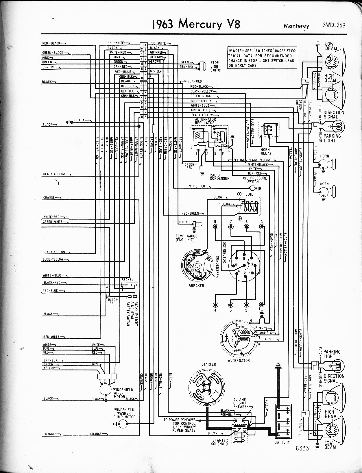 Mercury Grand Marquis Wiring Diagrams