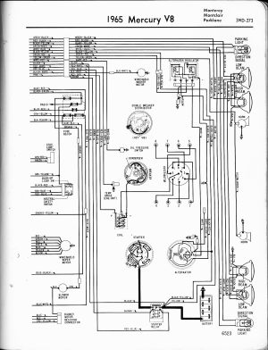 68 mercury cougar: wire diagramthe coil,water temp