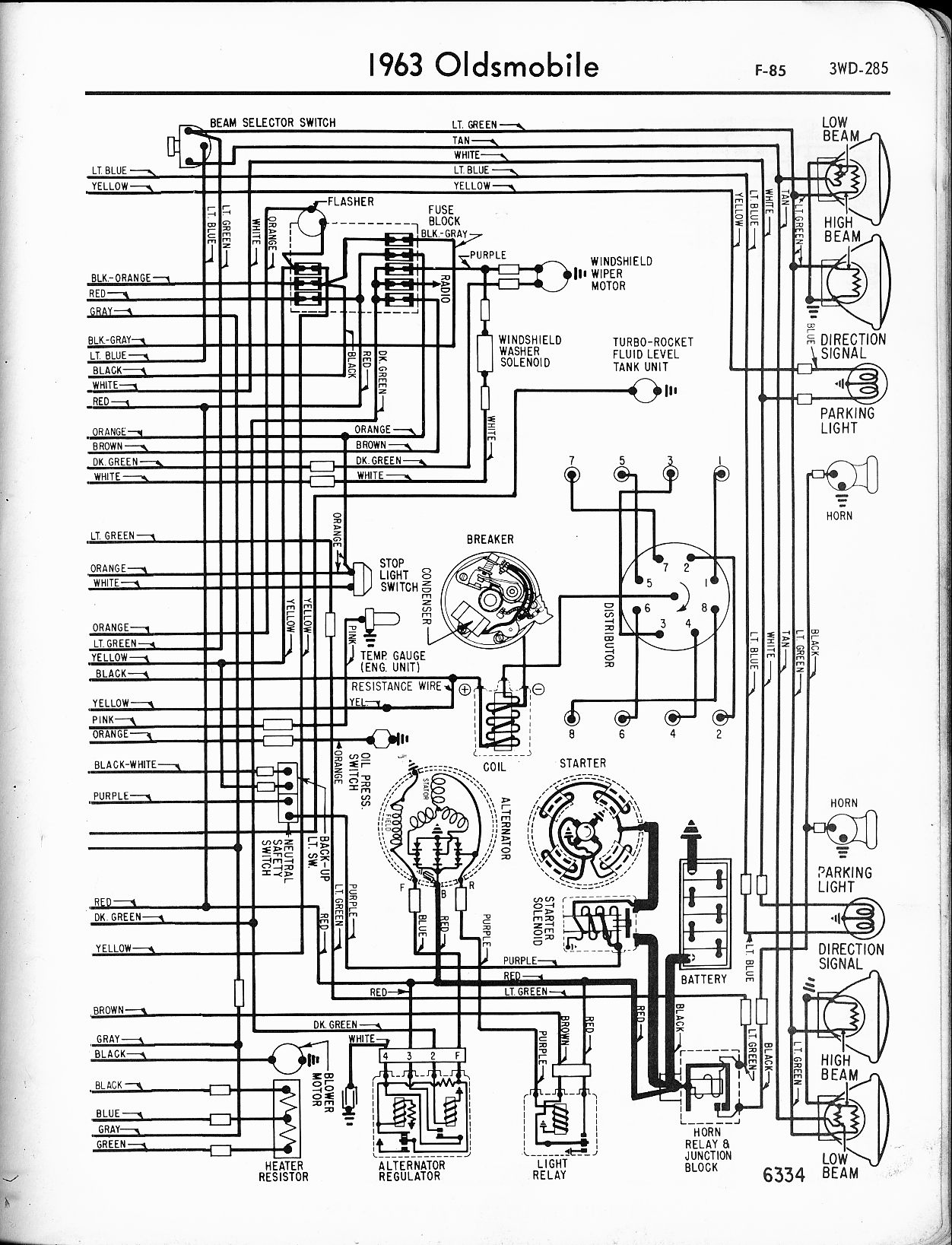 Wrg Alero Alternator Fuse Diagram