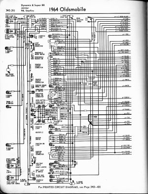Oldsmobile wiring diagrams  The Old Car Manual Project