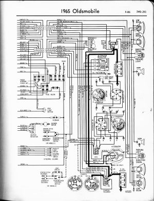 wiring diagramschematic | 1965 Oldsmobile 442 Forum