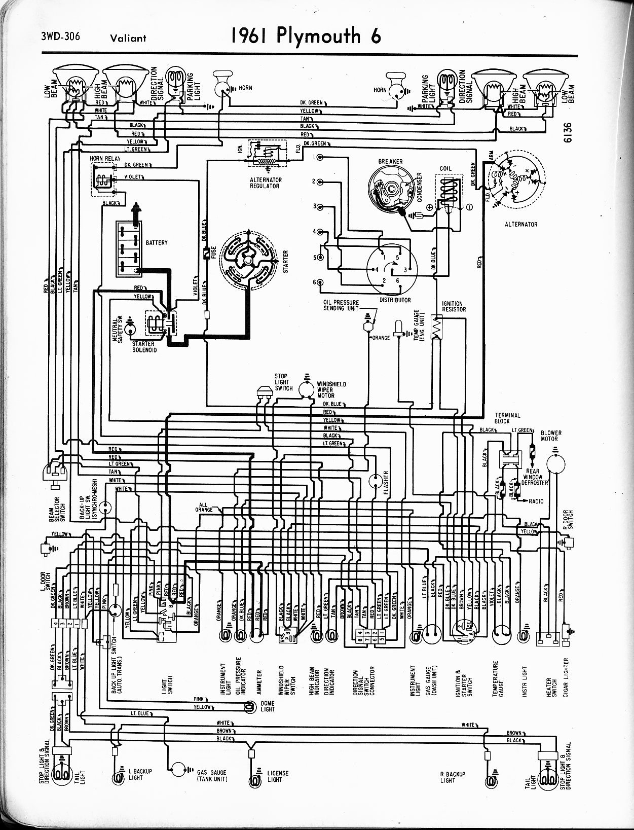 Dodge Polara Wiring Diagram