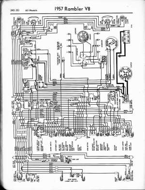 Rambler wiring diagrams  The Old Car Manual Project