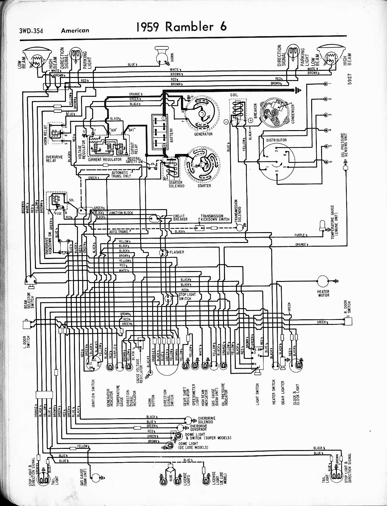 Rambler Rebel Wiring Diagram