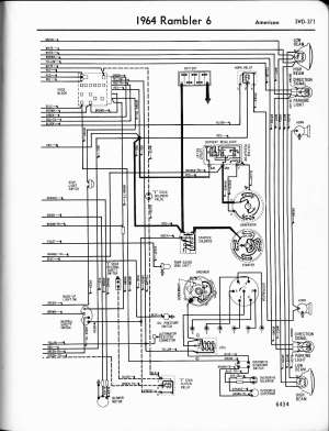 Rambler wiring diagrams  The Old Car Manual Project