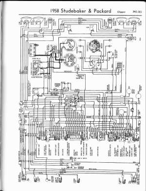 Studebaker wiring diagrams  The Old Car Manual Project