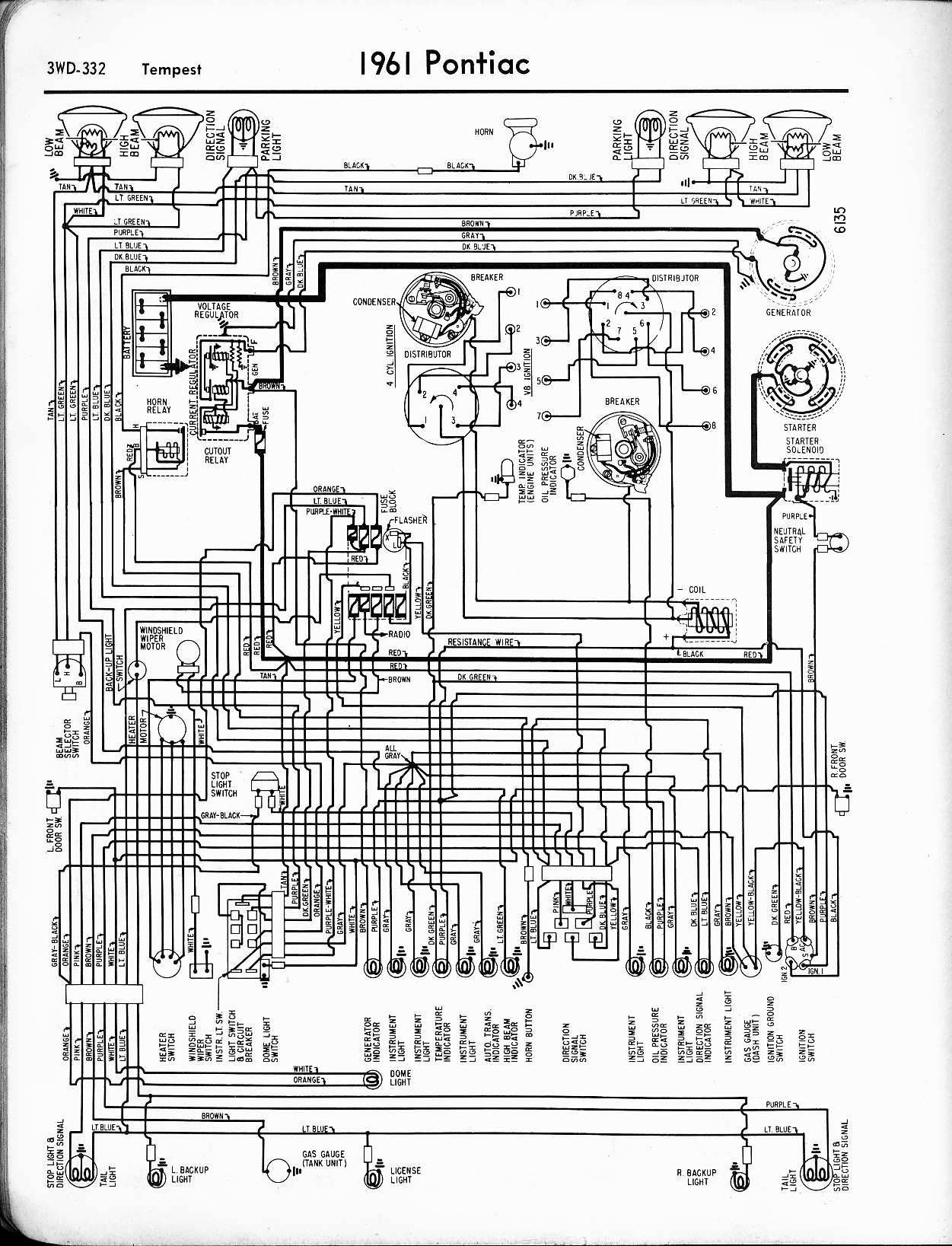 1965 pontiac gto rally gauge wiring diagram