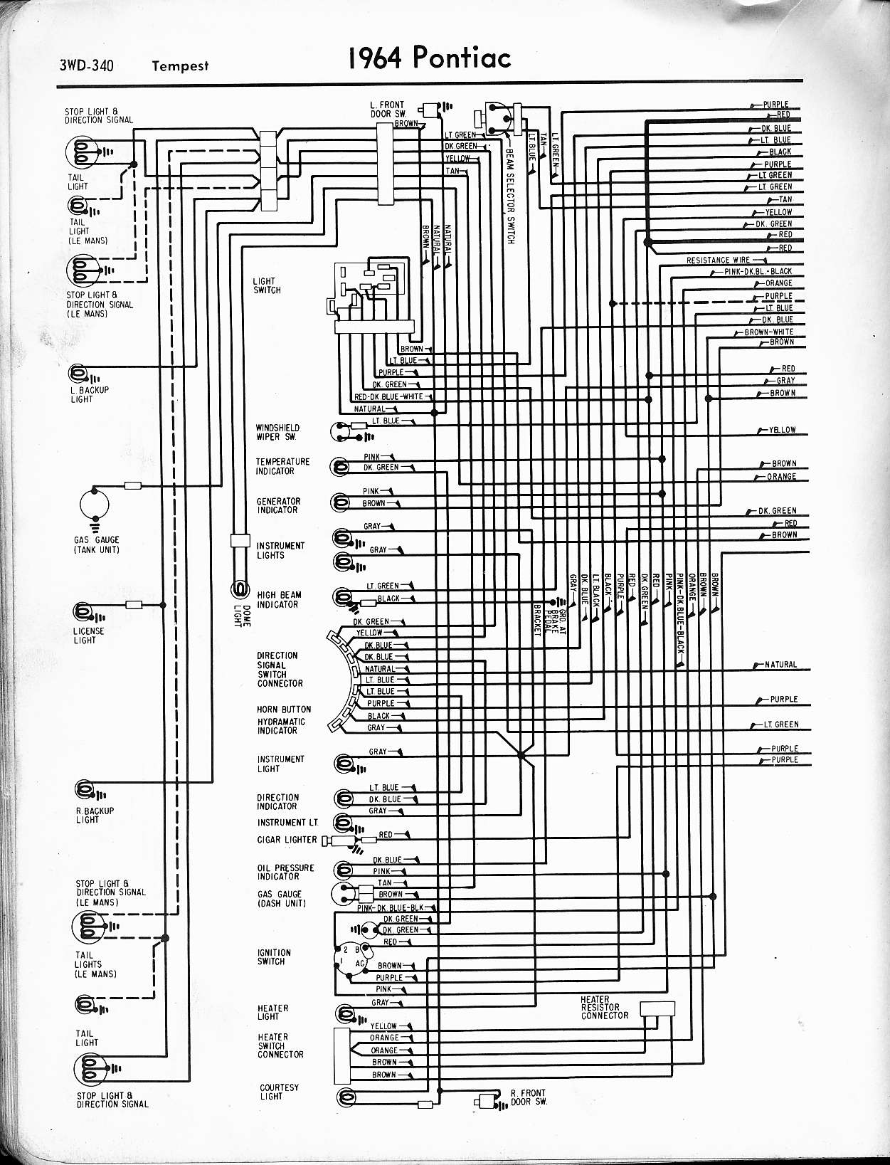 2006 gto wiring harness wiring diagram all 1968 Pontiac GTO Dash Wiring Diagram