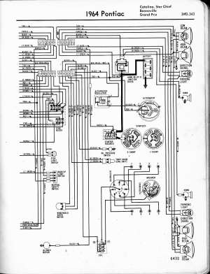 [WRG7916] 1964 Pontiac Catalina Wiring Diagram