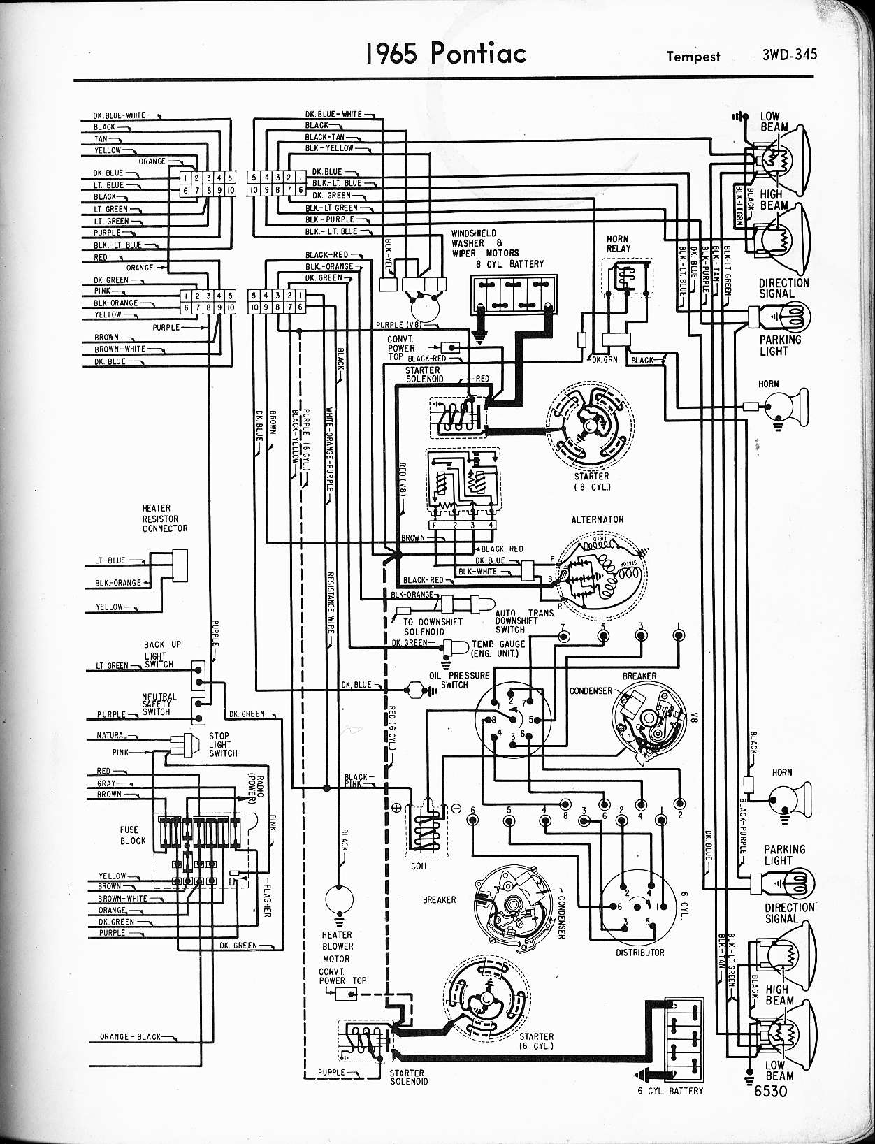 Firebird 400 Tach Wiring Diagram