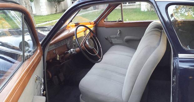 1946 Packard Clipper Six 2 Door Club Sedan In Coral Blue