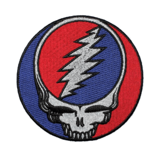 "Steal Your Face - 8"" patch"