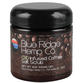 Blue Ridge Hemp Co. Coffee Salt Scrub