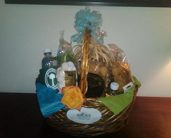 Creekside Veterinary Clinic Welcome Basket!
