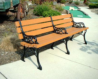 arm rest bench