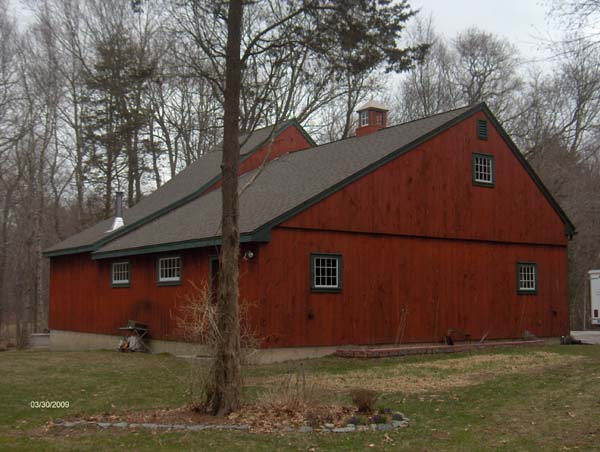 Post And Beam Buildings At Olde New England Salvage Co