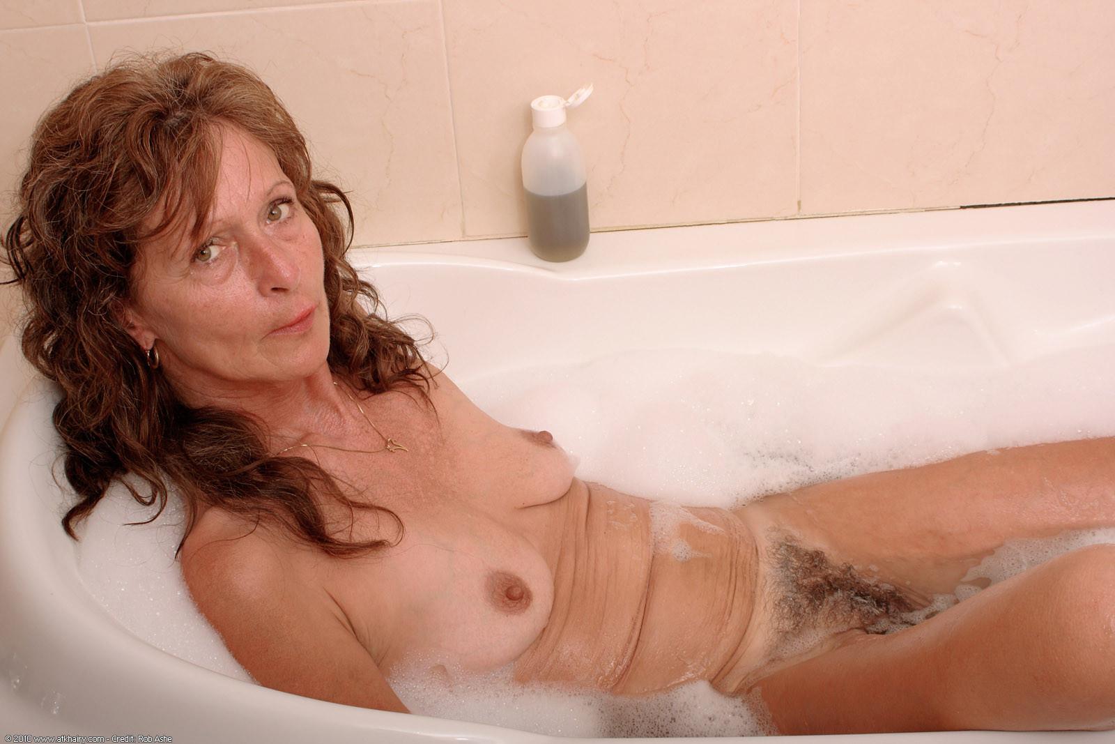 Nude skinny older women