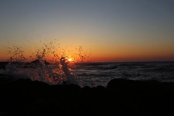 Nydeleg solnedgang i Sissi