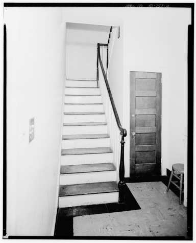 Interior of the Warden's House around 1967
