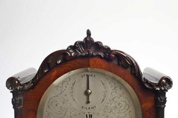 William IV Bracket Clock By Daniel Ross Exeter Olde