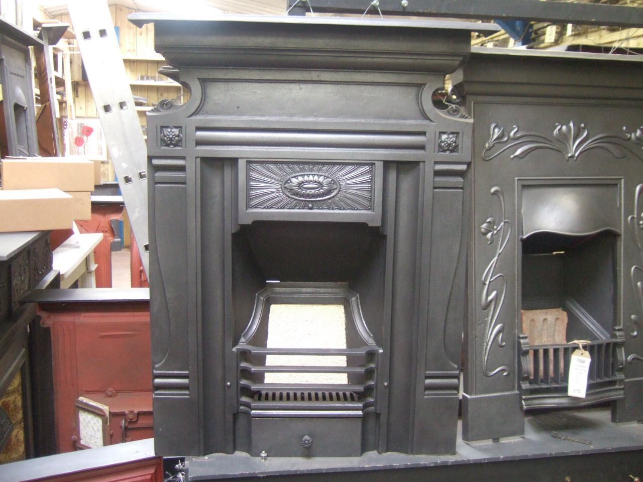 Original Arts And Crafts Fireplace 161mc