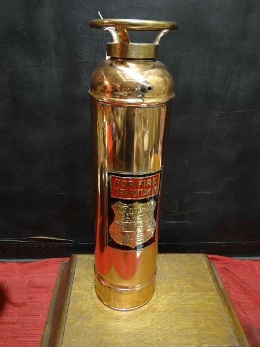 Foamite Antique Quot Pony Size Quot Restored Fire Extinguisher