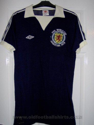 Scotland Cup Shirt Camiseta De Ftbol 1978