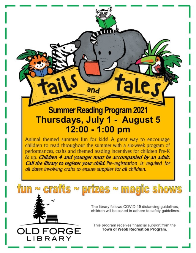 Summer Reading Program for Kids ~ Tails and Tales