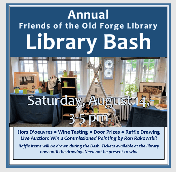Library Bash Fundraiser and Raffle Drawing