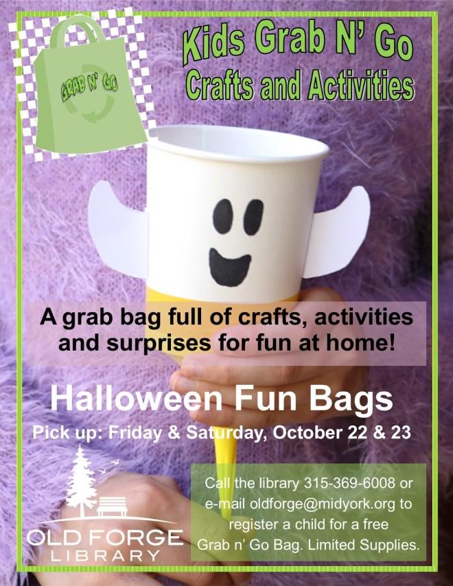 Grab n' Go Kids Activity Bags ~ Halloween Bags