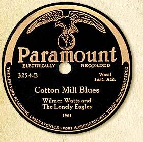 Cotton Mill Blues Label
