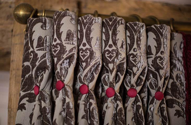 bespoke curtain finishings