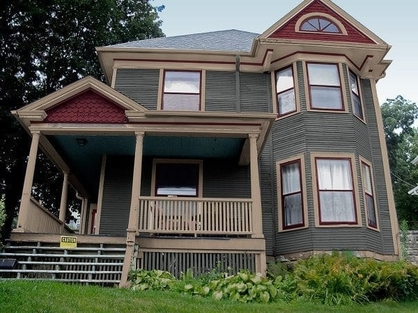 Exterior Paint Colors   Consulting for Old Houses   Sample Colors New Victorian exterior paint color scheme and corrected color placement