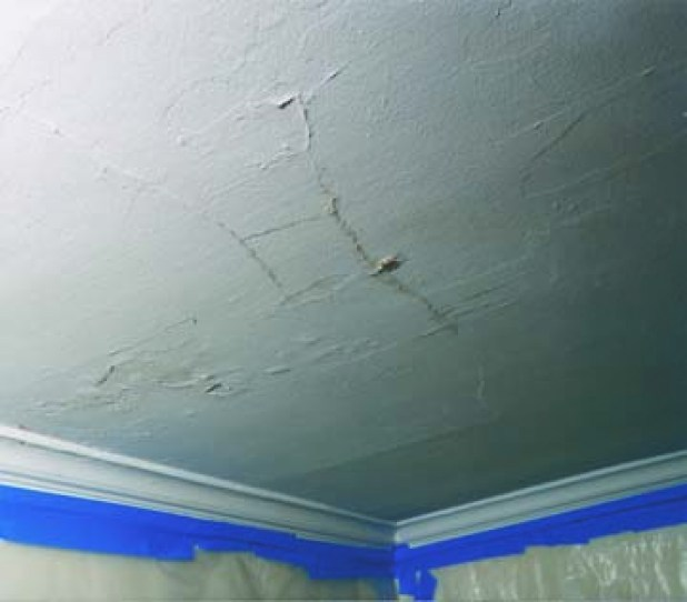 How Much Does It Cost To Paint A Ceiling: Fell Through Ceiling Repair Cost